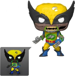 Фигурка Funko POP Marvel - Zombies Wolverine Glow-in-the-Dark (Exclusive)