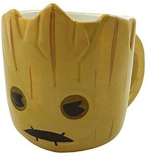 Чашка Marvel 3D Sculpted ceramic Mug - Guardians Of The Galaxy Groot