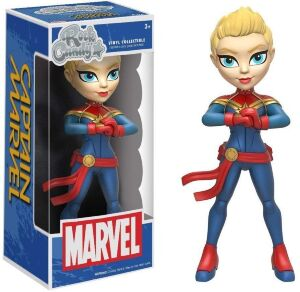 Фигурка Marvel: Funko Rock Candy - Captain Marvel