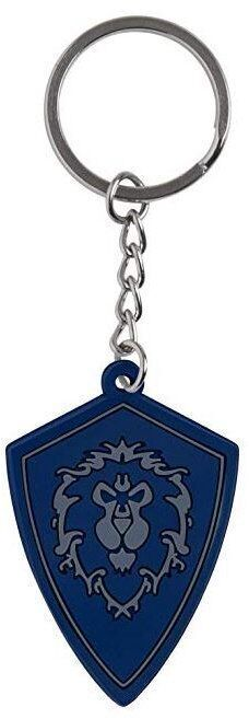Брелок - World of Warcraft Battle for Azeroth Alliance Rubber Key Chain