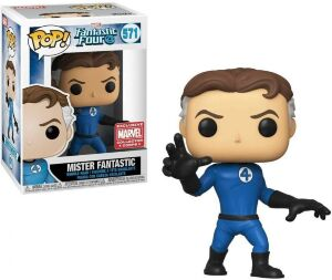 Фигурка Funko Pop Marvel - Mister Fantastic 571 (Marvel Exclusive)