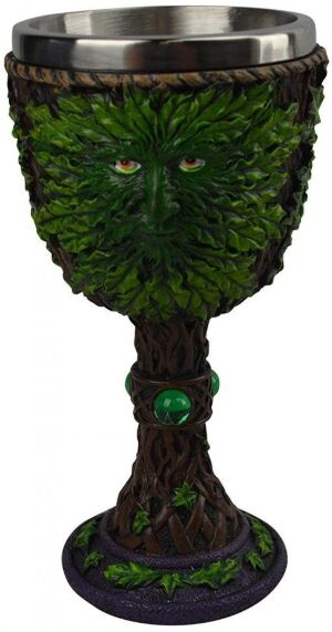 Кубок Game of Thrones Wine Goblet - Weirwood Green Face